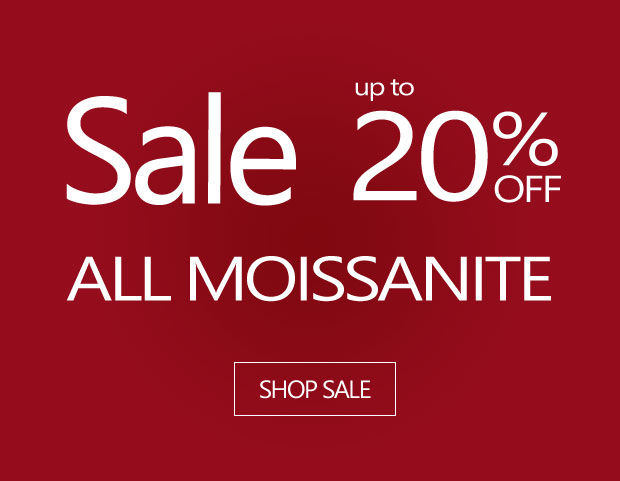 January Sale - up to 20% Off All Moissanite Lines